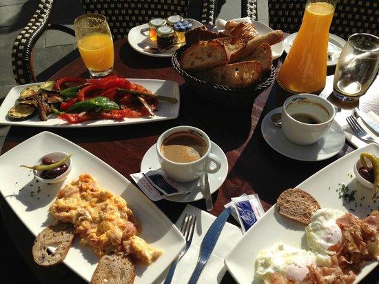 Hotel Cort : Super Frühstück