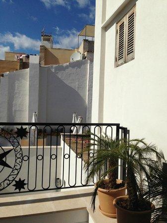 Hotel Cort : Auf der Terrasse