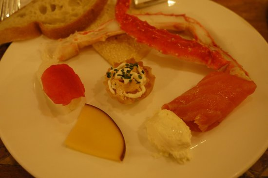 The Buffet at Bellagio: Starters