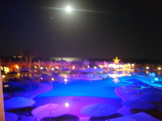 Hauza Beach Resort: over looking the pool