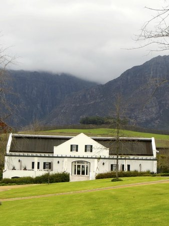 The Franschhoek Motor Museum: One of the museum buildings