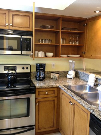 Fantasy World Club Villas : Kitchen stocked