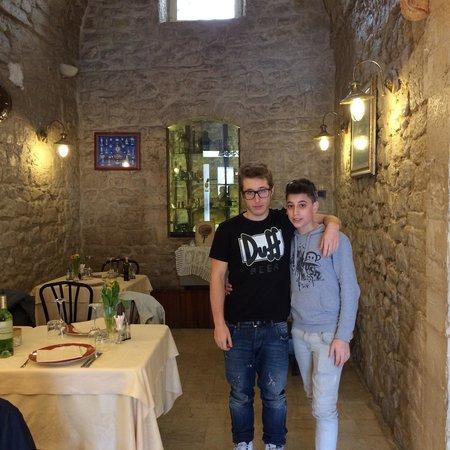 Isola di Sant'Andrea: Locale