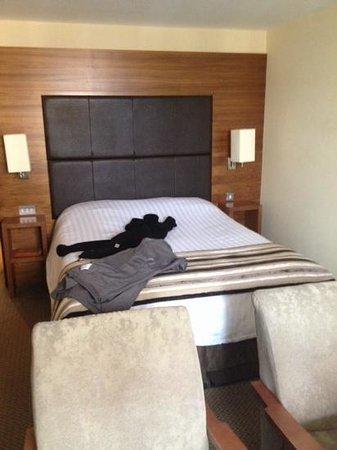 Big Blue Hotel : deluex double room