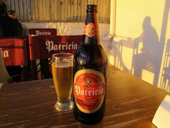 La Bodeguita : Cerveja Patricia, típica do Uruguay.