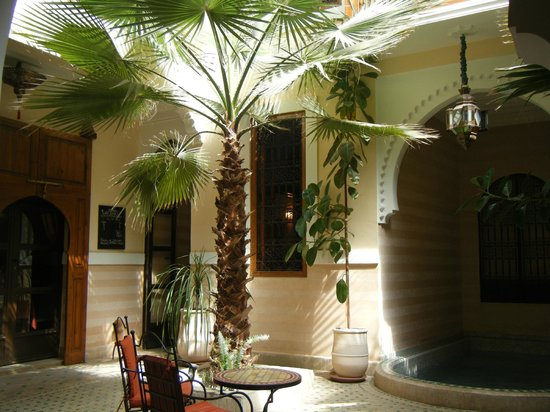 Riad RabahSadia : Patio