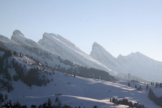 Hotel Sonne : Aussicht auf die Bergwelt