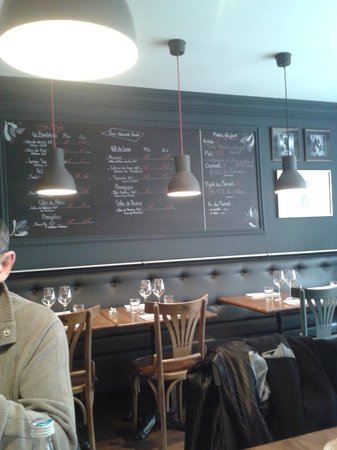 Bistrot du Père Tranquille : salle du restaurant