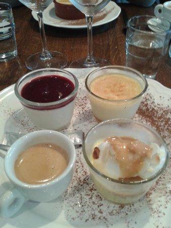 Bistrot du Père Tranquille : café gourmand