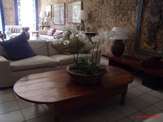 Pousada Porto Imperial: Sala de estar