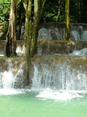 Tad Sae Waterfall : Beautiful falls