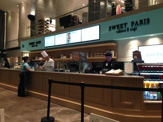 The Grand Mayan Nuevo Vallarta : Sweet Paris Creperie Cafe