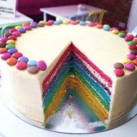 Cloud 9: Rainbow Cake