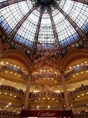 Galeries Lafayette: Купол крыши