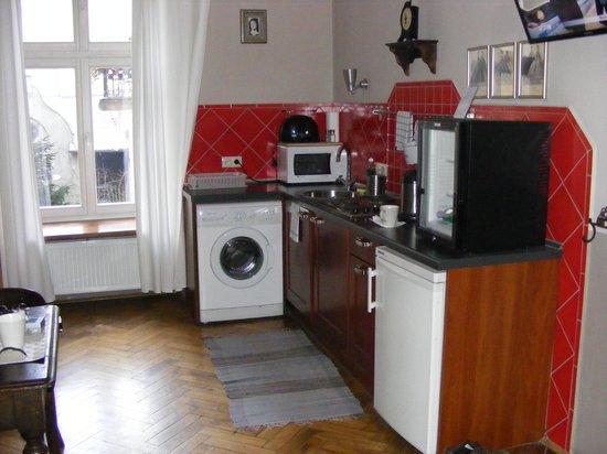 Antique Apartments Plac Szczepanski: kitchen