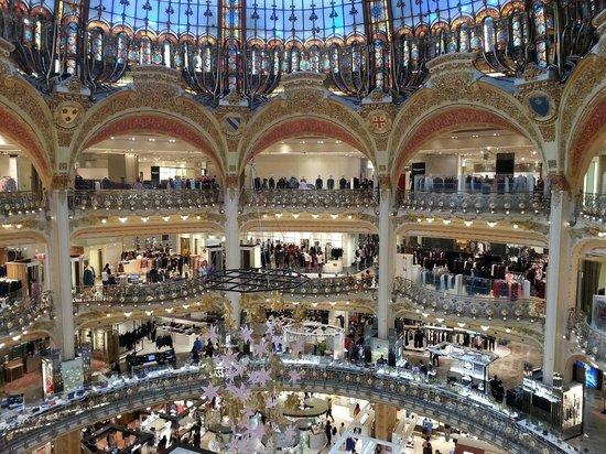 Galeries Lafayette: Панорамный вид