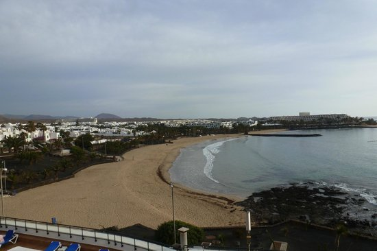 Be Live Experience Lanzarote Beach: A view from our room