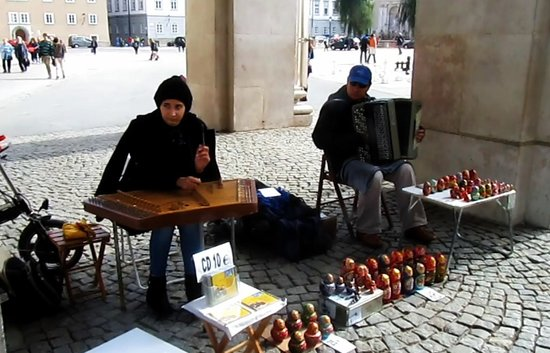 Salzburger Dom: Street Artists the Dom