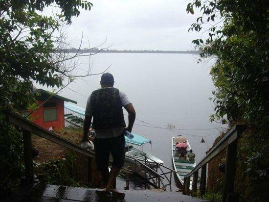 Anavilhanas Jungle Lodge: Jetty