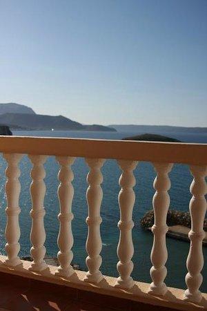 Villa Dina: Балкон