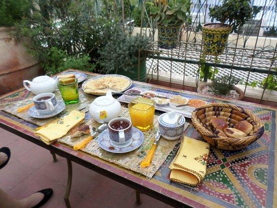 "Riad Cherihane: Un ""petit"" déjeuner royal"