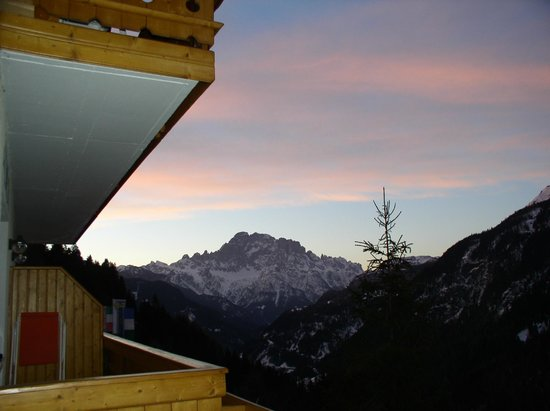 Hotel Cesa Padon : Morgenblick