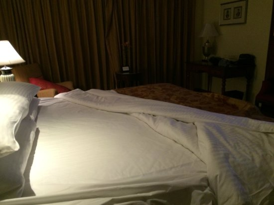 Taj Krishna Hyderabad: Amazing Bed