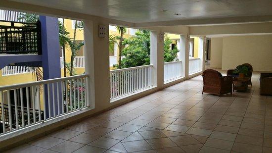 Caribe Club Princess Beach Resort & Spa : Blick Richtung Innenhof