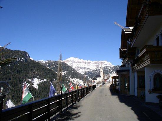 Hotel Cesa Padon : Ausblick