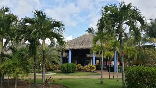 Caribe Club Princess Beach Resort & Spa : Eingang zum Hauptrestaurant