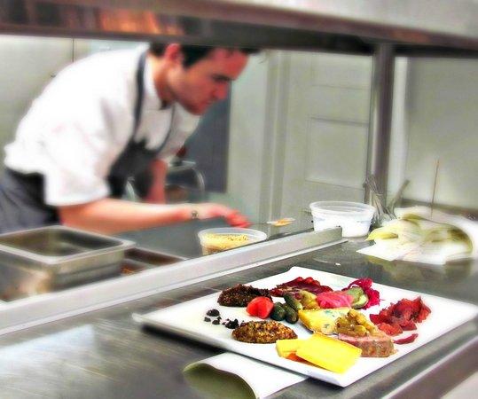 Restaurant 17: In the kitchen