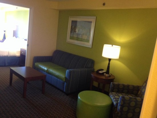 Holiday Inn Hotel & Suites Daytona Beach : Comfortable sofa.