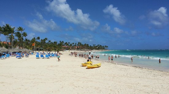 Caribe Club Princess Beach Resort & Spa : Strandblick nach links