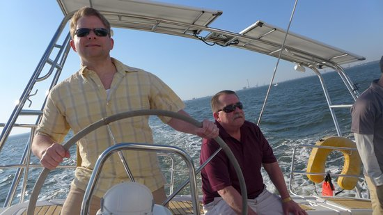 Charleston Sailing Private Day Charters : It's harder than it looks