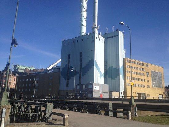 Center Hotel: Grossa Centrale per l'energia