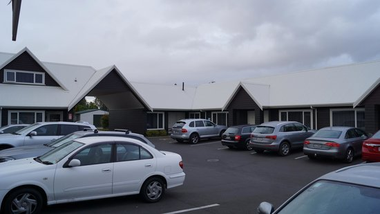 Matamata Central Motel : carpark