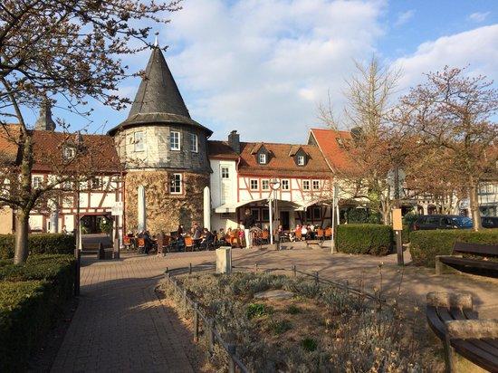Zum Turmchen: View from the market square