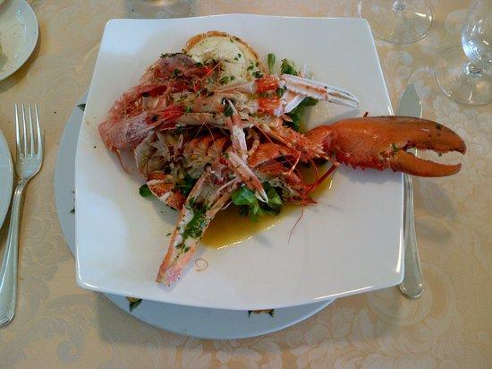 Ristorante il Pernambucco : Mixed dish of lobster,shrimps and camarones