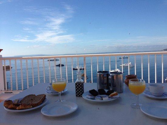 Hostal MarBlau Ibiza : Desayuno