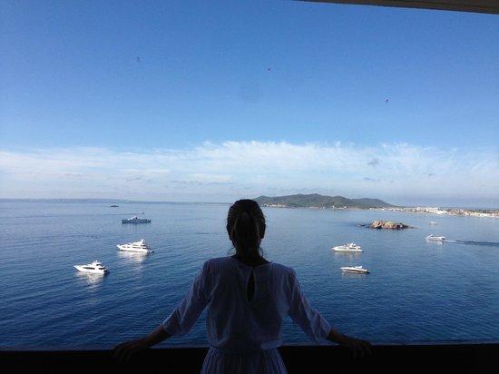 Hostal MarBlau Ibiza : Vistas increibles