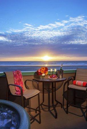 Full Ocean View Guest Room Sunset