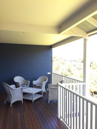 Seashells Yallingup: 'Main' balcony on the apartment
