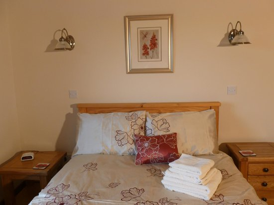 Sunset House Bed and Breakfast : Double bed