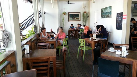 Seagull Cafe House: terraza superior