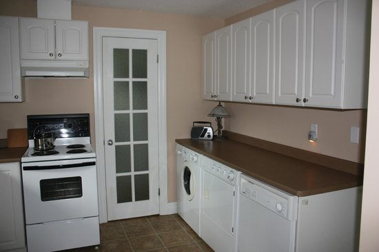 Ellis House Bed and Breakfast: Executive Apartment - Kitchen