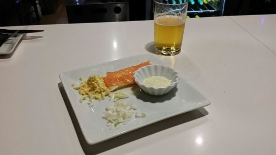 Plato Al Centro: Salmon