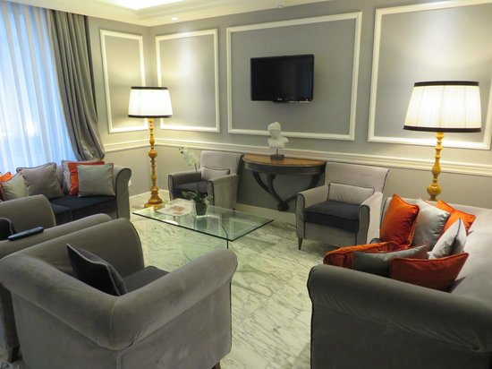 Rapallo Hotel: Sala TV