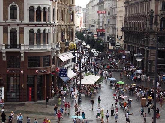 Historisches Zentrum von Wien: View from our window