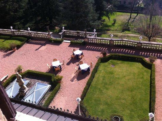 Villa Porro Pirelli : Colazione in giardino
