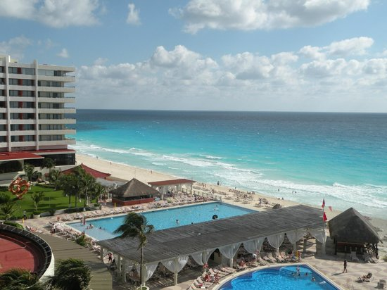 Crown Paradise Club Cancun: From out balcony